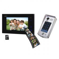 Wideodomofon przewodowy z pamięcią ORNO REMUS MEMO 7˝ - dotykowy, natynkowy - OR-VID-DT-1037 - 2 żyłowy