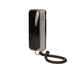 Unifon wielolokatorski do instalacji cyfrowych SMART D, CYFRAL, czarno-szary Orno SMART-D CZ-SZ