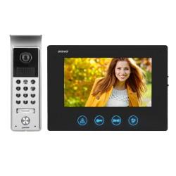 Wideodomofon przewodowy ORNO CERES OR-VID-ME-1056/B 7˝z szyfratorem