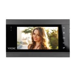 Monitor bezsłuchawkowy LCD 7'' do wideodomofonów ViRONE VIFIS VDP-61PMV