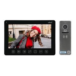 """Zestaw wideodomofonowy, bezsłuchawkowy, kolor, LCD 7"""", menu OSD, sterowanie bramą, czarny NOVEO Orno OR-VID-EX-1057/B"""