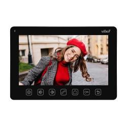 """Wideo monitor bezsłuchawkowy, kolorowy, LCD 7"""" do zastosowania w systemach VIBELL, czarny Orno OR-VID-EX-1057MV/B"""