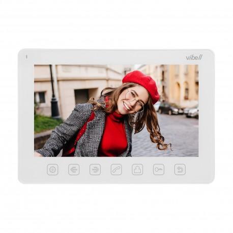 """Wideo monitor bezsłuchawkowy, kolorowy, LCD 7"""" do zastosowania w systemach VIBELL, biały Orno OR-VID-EX-1057MV/W"""