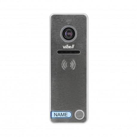 Wideo kaseta 1-rodzinna z kamerą szerokokątną, kolor, wandaloodporna, diody LED, do zastosowania w systemach VIBELL Orno