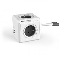 Przedłużacz modułowy PowerCube Extended z USB 3,0 m - 2 kolory