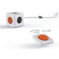 Przedłużacz modułowy PowerCube Extended Remote 1,5 m + pilot PowerRemote - 2 kolory