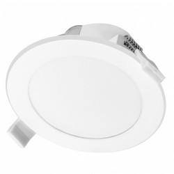 AURA LED 9W, oprawa downlight, podtynkowa, 4000K, biała, wbudowany zasilacz LED Orno OR-OD-6139WLX4