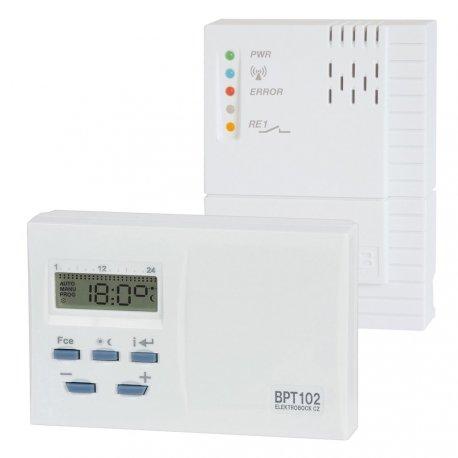 Termostat programowalny Elektrobock BPT102 - bezprzewodowy