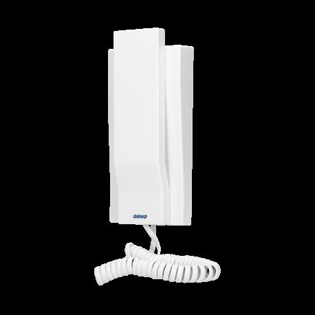 Unifon do rozbudowy domofonów ORNO MIZAR, ORNO OR-DOM-AT-929UD/W, biały