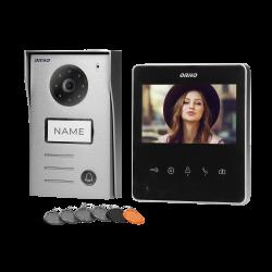 Wideodomofon przewodowy ORNO NAOS OR-VID-SH-1074 4,3˝z czytnikiem breloków i kart zbliżeniowych