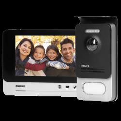 Wideodomofon przewodowy Philips WelcomeEye Comfort 531119, monitor LCD 7''