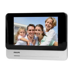 """Wideodomofon Philips WelcomeEye Touch 531101 7"""", czytnik kart i breloków zbliżeniowych"""