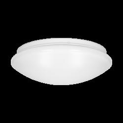 Plafon LED z mikrofalowym czujnikiem ruchu ORNO VEGA - MV NEW OR-PL-6105WLPMM4, 12W, 840lm, 4000K, IP44, PMMA+stal