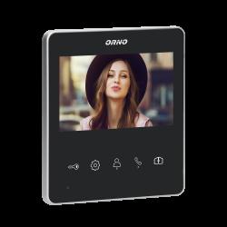 """Wideo monitor bezsłuchawkowy, kolorowy, LCD 4,3"""", do zestawu z serii NAOS, otwieranie bramy Orno OR-VID-SH-1074MV"""