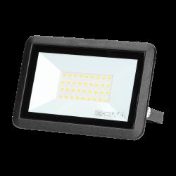Naświetlacz BULLED LED 30 W ORNO OR-NL-6137BL4, 2400lm, IP65, czarny