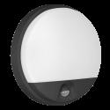 Oprawa ogrodowa ORNO AGAT LED OR-OP-6112BLPMR4 z czujnikiem ruchu PIR, 15W, IP54, czarna
