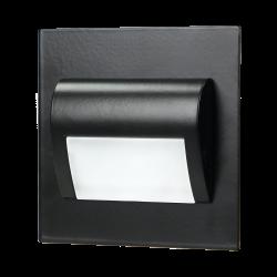 Oprawa schodowa LED ORNO DRACO OR-OS-6164L3/B, 3000 K, czarna