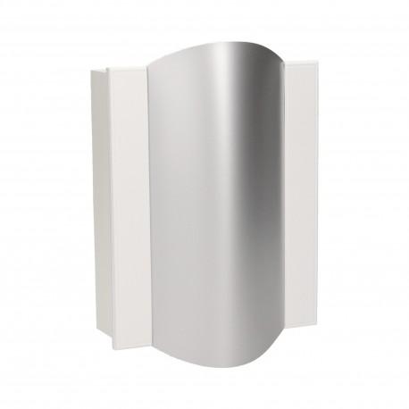 Dzwonek elektromechaniczny dwutonowy TON COLOR 230V, biało-srebrny Orno OR-DP-VD-144/W-G