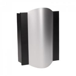 Dzwonek elektromechaniczny dwutonowy TON COLOR 230V, czarno-srebrny Orno OR-DP-VD-144/B-G