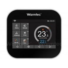 Termostat programowalny Warmtec ITS z Wi-Fi przewodowy, dotykowy z kolorowym ekranem