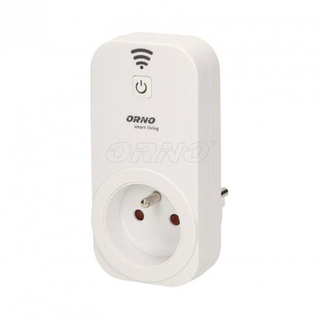 Gniazdo centralne ORNO Smart Living - sterowane bezprzewodowo WiFi - ORNO OR-SH-1701