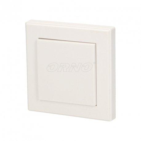 Włącznik natynkowy sterowany bezprzewodowo z funkcją ściemniacza - pojedynczy - do systemu ORNO Smart Living - OR-SH-1710