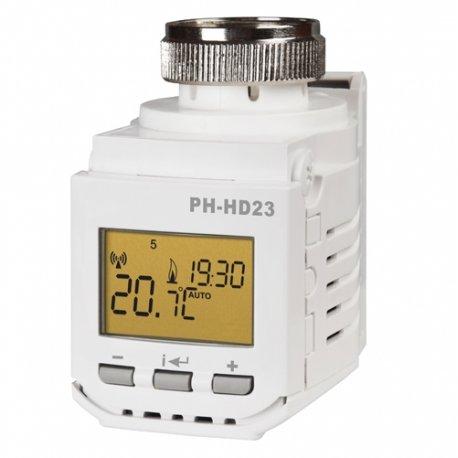 Bezprzewodowa głowica kaloryferowa Elektrobock PH-HD23 z wyświetlaczem