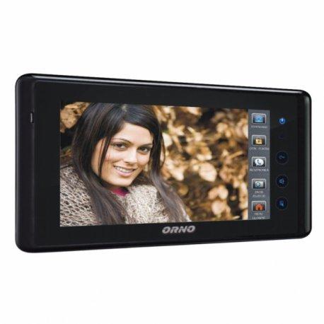 Monitor bezsłuchawkowy LCD 7'' do wideodomofonów ORNO z serii DEFENSA, LEX, MURI, VIA