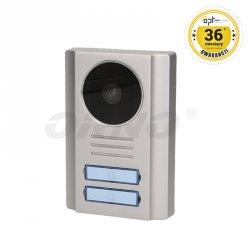 Kamera wideo do rozbudowy wideodomofonów dwurodzinnych ORNO PARS MULTI, SALUS MEMO MULTI - OR-VID-EX-2007KV