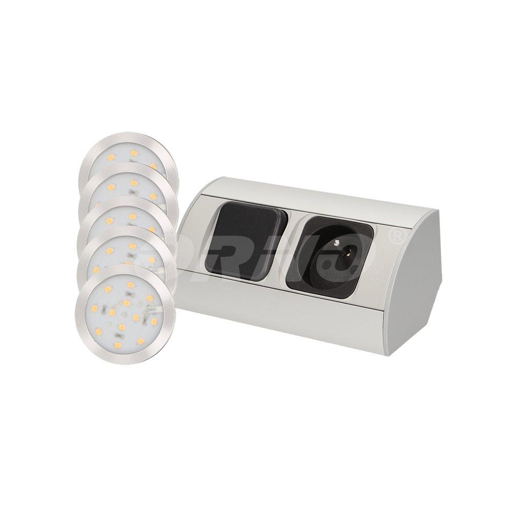 Oprawy Podszafkowe Z Oświetleniem Led Gniazdem 230 V I Wyłącznikiem