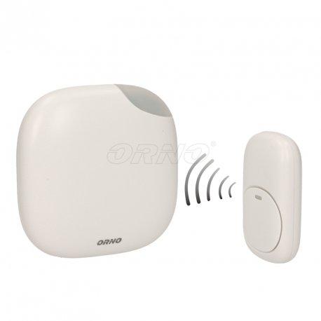 Bezprzewodowy dzwonek z funkcją alarmu ORNO LOGICO DC OR-DB-QM-125 - sieciowy gniazdkowy