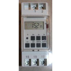 Programator czasowy Elektrobock CS4-16 na listwę DIN