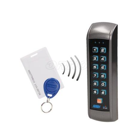 Zamek szyfrowy z czytnikiem kart i breloków zbliżeniowych ORNO OR-ZS-803