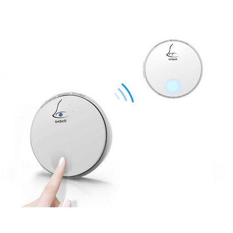 Bezprzewodowy dzwonek LINBELL G2 - sieciowy gniazdkowy - bezbateryjny