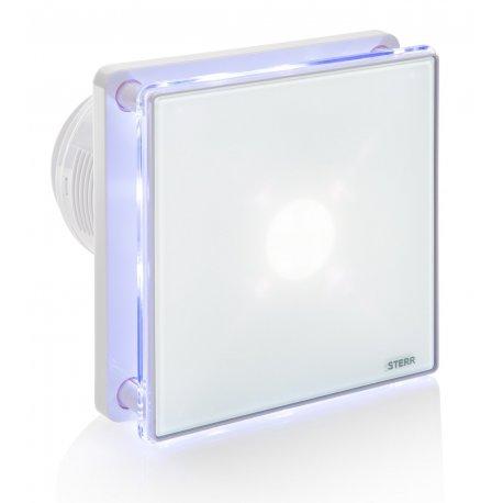 Wentylator łazienkowy STERR BFS100L z podświetleniem LED