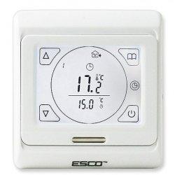 Termostat programowalny Esco TC910 - przewodowy dotykowy