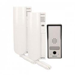 Domofon jednorodzinny ORNO PANDA BAX DP-11 - 2 słuchawki z interkomem - natynkowy