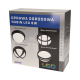 Oprawa ogrodowa gładka ORNO SZAFIR LED OR-OP-6017LPM3, 4W, IP54