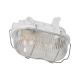 Oprawa oświetleniowa ORNO AUSTRUL OR-OP-308WE27SPS, E27 ze stalową osłoną