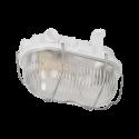 Oprawa oświetleniowa ORNO AUSTRUL OR-OP-308WE27SPS, E27, szklana ze stalową osłoną
