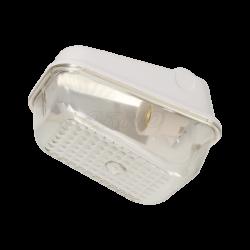 Oprawa oświetleniowa ORNO KARIF OR-OP-312GE27PP, E27, poliwęglanowa bez osłony