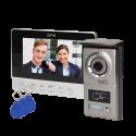 Wideodomofon przewodowy CHARON BAX VDP-40 7˝ z czytnikiem breloków i kart