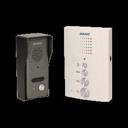 Domofon jednorodzinny głośnomówiący, natynkowy ORNO ELUVIO OR-DOM-RE-914/W, biały
