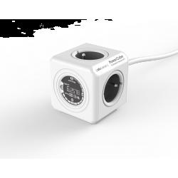 Przedłużacz z miernikiem zużycia energii PowerCube Extended Monitor 1,5 m