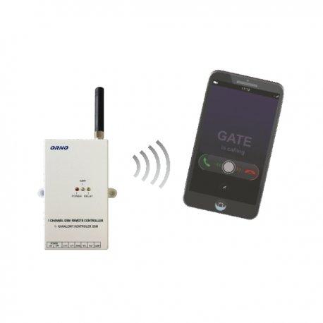 Kontroler GSM ORNO OR-SA-1715 do sterowania bramą, oświetleniem, szlabanem itp.