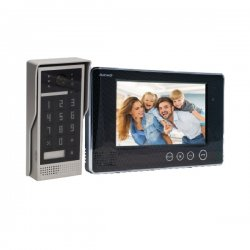 Wideodomofon przewodowy ORNO CRUX 7˝ - dotykowy - OR-VID-VP-1049 - 2 kolory monitora