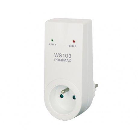 Bezprzewodowy włącznik gniazdkowy Elektrobock WS103 bez pilota