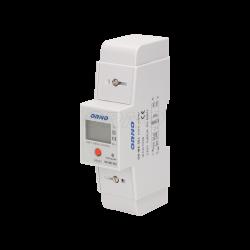 Wskaźnik zużycia energii elektrycznej 1-fazowy 80 A ORNO OR-WE-503 z dodatkowy podlicznikiem
