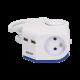 Przedłużacz rogowy 1,5 m 2 gniazda 230 V 2x2P+Z + 2 gniazda USB ORNO OR-AE-1343 z wyłącznikiem