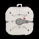 Przedłużacz zwijany 7 m 4 gniazda 230 V 4x2P+Z ORNO OR-AE-1375 z płaską wtyczką
